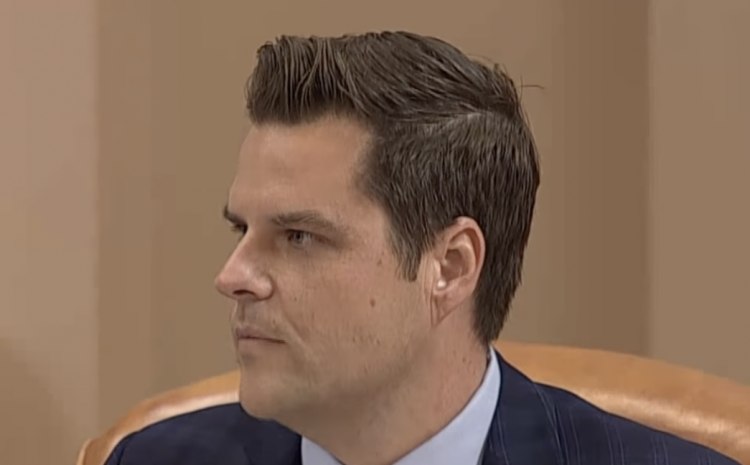 Matt Gaetz CAUGHT Backpedaling On Something That Affects ALL Of Us!