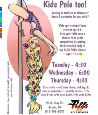 SICK: Indiana Perverts Offering POLE DANCING CLASSES To Small Children!